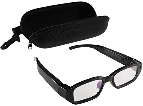 Occhiali con fotocamera CT-Glas FHD Video Full HD 1920 x 1080 p batteria ricaricabile I Action Camera per Boulder, Biker, Downhill.