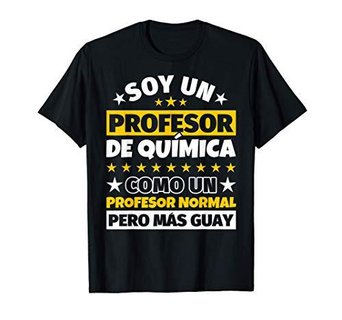 Hombre Profesor de Química Regalo Camiseta