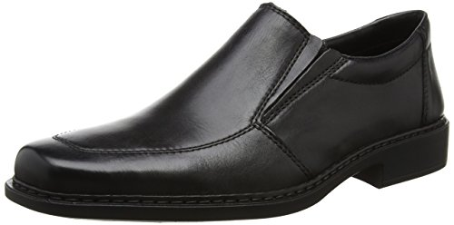 Rieker Herren B0875 Loafers & Mocassins-Men Slipper, Schwarz (Nero/schwarz / 01), 40