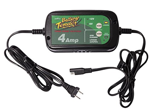 Battery Tender 022-0209-DL-WH 4A Selectable Charger is an AGM/Standard or...