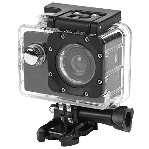 Intempo EE2233STKEU Action Camera IPX8 grandangolare impermeabile Sync con funzione di autoscatto, uscita video 50 60 Hz, risoluzione video 1080 P HD con cavo di ricarica USB