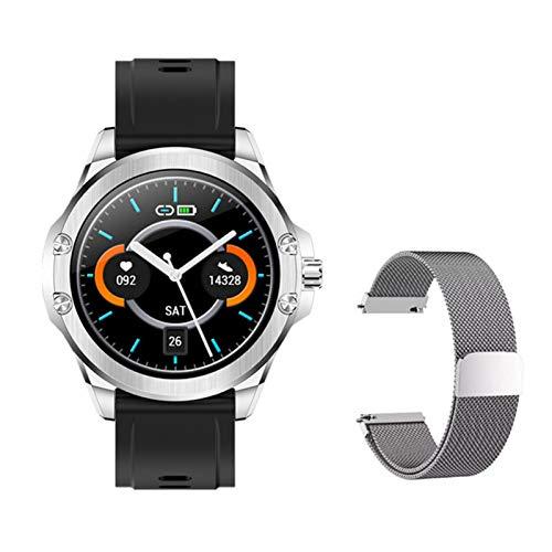 RCH S11 Smart Watch 1.28 Pulgadas IPS Pantalla de Color Deportes al Aire Libre Monitoreo de Salud IP67 Pulsera Inteligente Impermeable para Android iOS,E