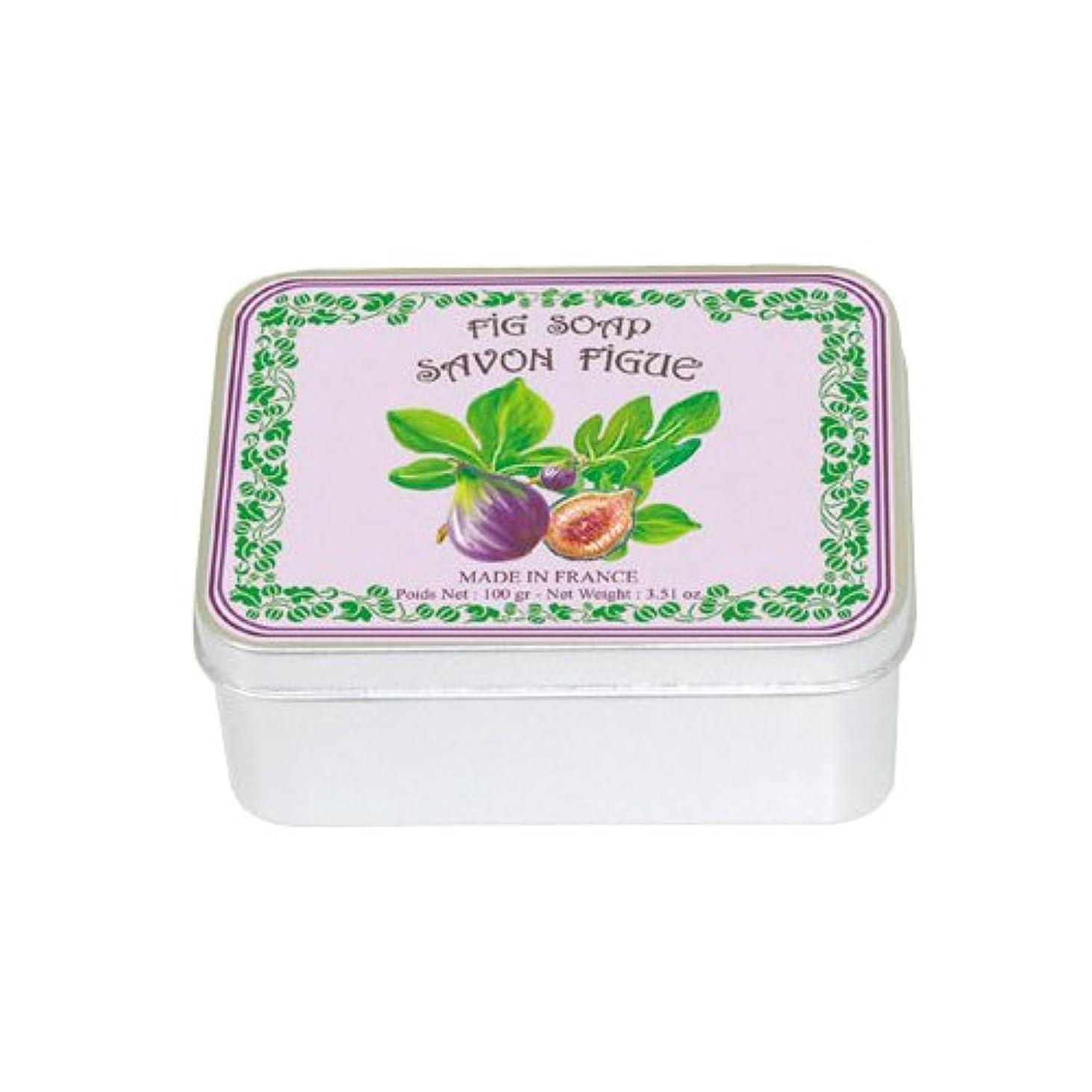 構築する日の出深遠ルブランソープ メタルボックス(イチジクの香り)石鹸