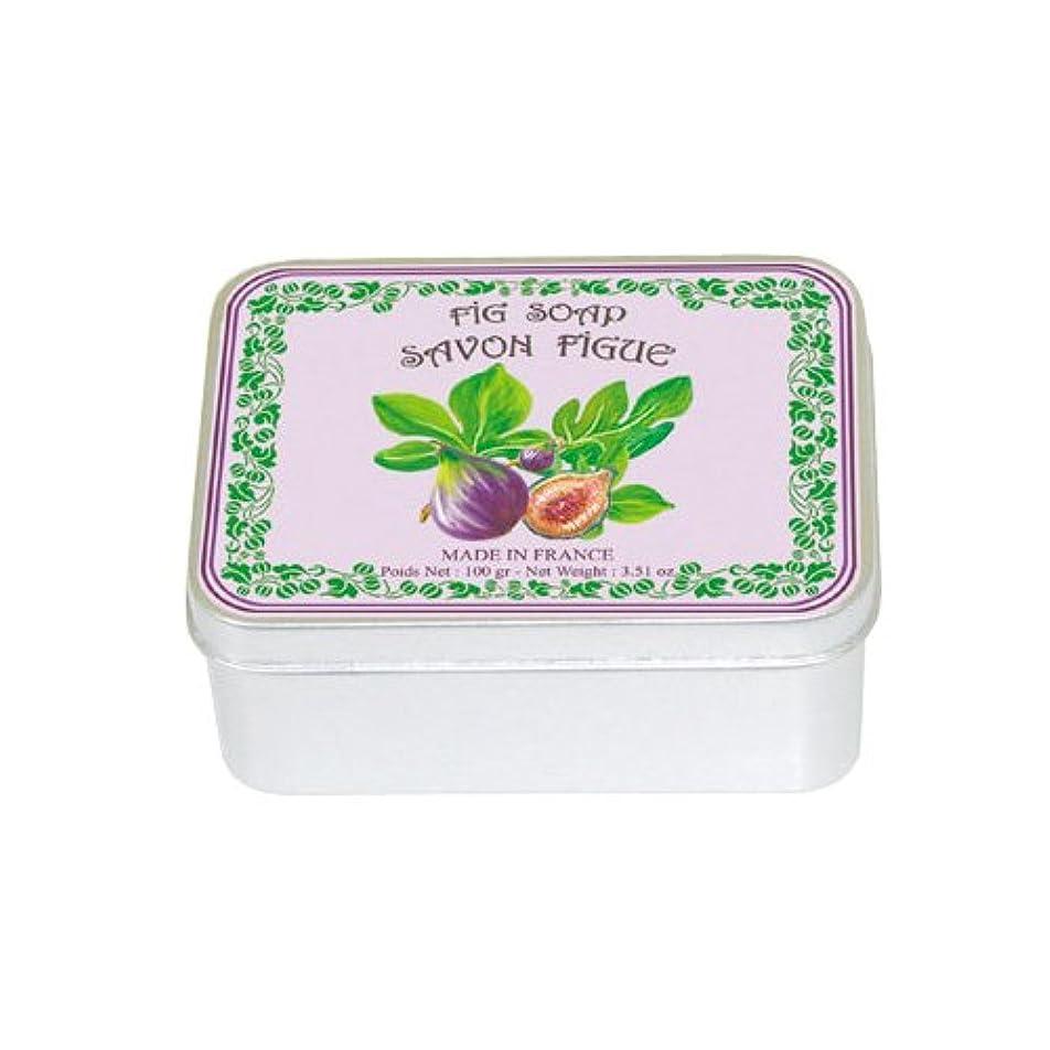 処方する胃見落とすルブランソープ メタルボックス(イチジクの香り)石鹸