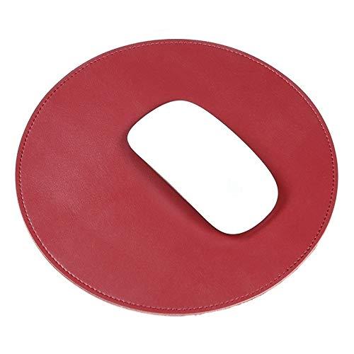 Keyboard Pad Game Mouse Pad Mikrofaser Crazy Horse Textur Circular Wasserdichte Maus-Pad (schwarz) Mit einem Durchmesser von 22 cm, hat die Maus einen ausreichend großen Bewegungsbereich. Mouse Pad+Ke