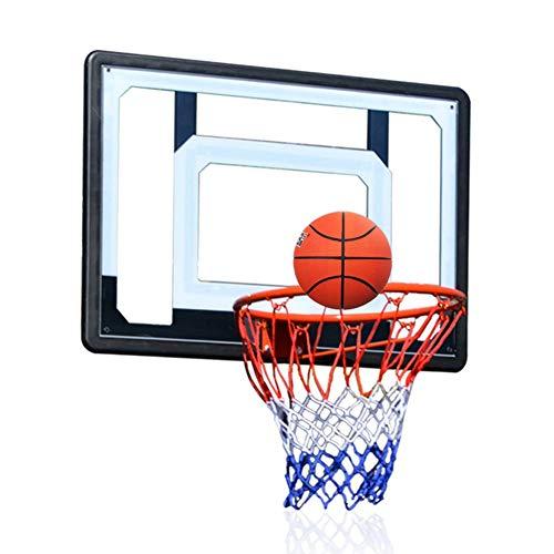 MHCYKJ Canasta Baloncesto Interior Casa De para Niños Colgar sobre Puertas Oficina Mini Junta Deportes Infantil Aro Bola Bomba Jugar Al Aire Libre En El