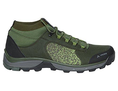 VAUDE Men's Hkg Citus, Chaussures de Randonnée Basses Homme, Vert (Olive), 42 EU