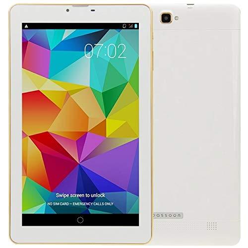 9 Pulgadas Android 4.2.2 3G Tablet Tablet 8GB, P900, RAM: 1GB, Dual SIM, WCDMA & gsm (Negro) (Color : White)