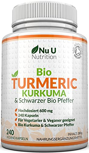 Nu U Nutrition -  Bio Curcuma |