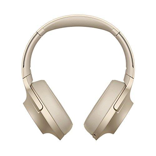 Sony WHH900N - Auriculares de Diadema Inalámbricos con Alexa integrada (H.Ear, Hi-Res Audio, Cancelación de Ruido, Sense Engine, Bluetooth, Compatible con Aplicación Headphones connect), Beige, U