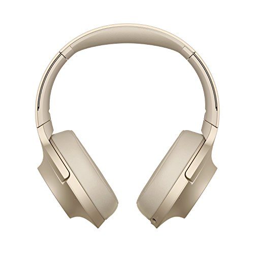 Sony WH-H900N High-Resolution Kopfhörer, Kabelloser, Noise Cancelling, gold, mit Alexa-Integration