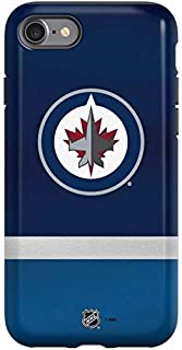 Skinit Pro Phone Case Compatible with iPhone SE - Officially Licensed NHL Winnipeg Jets Alternate Jersey Design