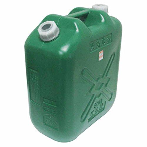 北陸土井工業 日本製 Japan 軽油缶20L スリム (消防法適合品) 【まとめ買い8缶セット】