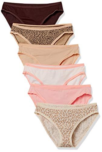 Amazon Essentials Women's Cotton Stretch Bikini Underwear