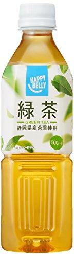 [Amazonブランド]Happy Belly 緑茶 500ml×24本