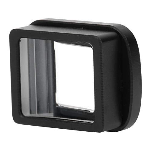 DAUERHAFT Anamorphotisches Objektiv 1,33-faches Objektiv Kinoobjektiv Lichtobjektiv Breitbild-Effekt Feine Verarbeitung, einfache Installation und Verwendung für Kamerazubehör