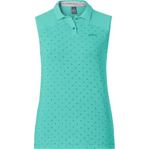Odlo Shift Polo multisport Sans Manches Femme Cockatoo FR : XS (Taille Fabricant : XS)