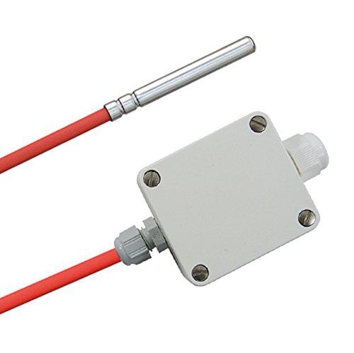 Temperaturfühler Aktiv Messumformer / 0-10V Spannung oder 4-20mA Strom Ausgang, 2 Meter
