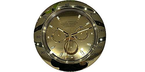Rolex Fashion lujo réplica reloj de pared (oro)