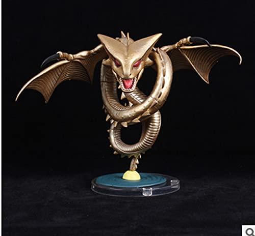 Ylmnku Wcf Mega Dragon Ball Figuras De Anime Golden Shenron Colección De Figuras De Acción Modelo...