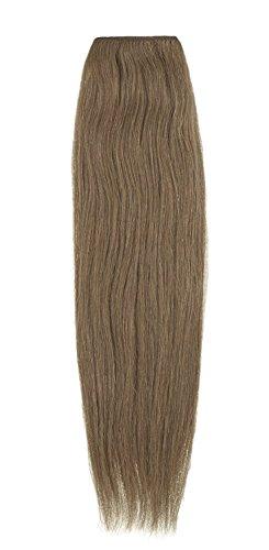 American Dream Remy 100% cheveux humains 35,6 cm soyeuse droite Trame Couleur 12 – Brun Doré