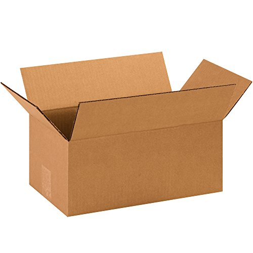 Partners Brand P1486 Corrugated Boxes, 14'L x 8'W x 6'H, Kraft (Pack of 25)