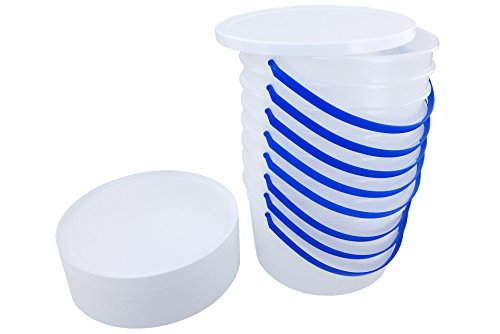 1 Gallon Ice Cream Tub with Lid (8)