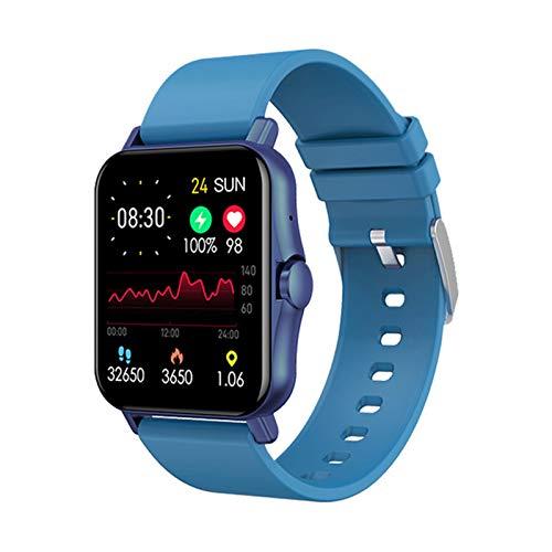 ZW23 New Smart Watch Men's Smart Watch 1.69 Pulgadas Ladies Bluetooth Llamada Watch Waterproof Fitness Tracker Control De Música para Android iOS,C