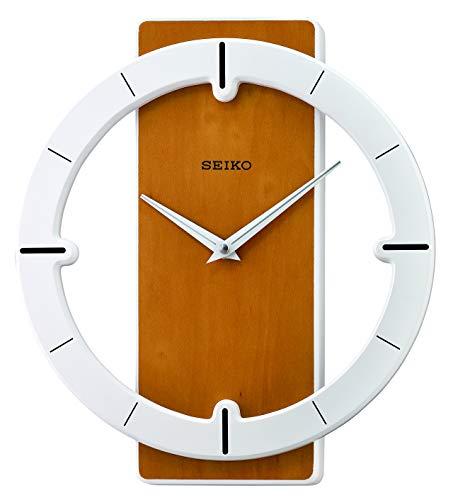 Seiko Relojes de Pared, Madera, marrón, 322 mm