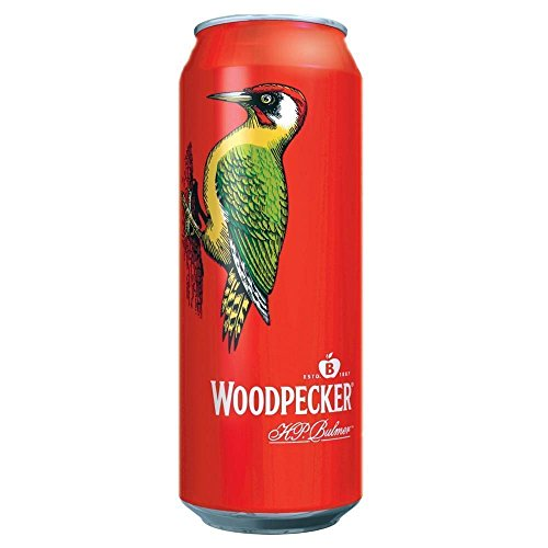 Woodpecker Sweet Apple Cider (24 x 500ml Cans)
