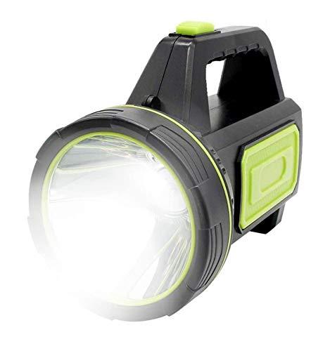 XUNATA Superheller LED Handscheinwerfer 6000 Lumens Outdoor Led Taschenlampe Tragbar Laterne USB Wiederaufladbare Handlampe Arbeitsleuchte Flashlight Camping Laterne Wasserdicht Suchscheinwerfer