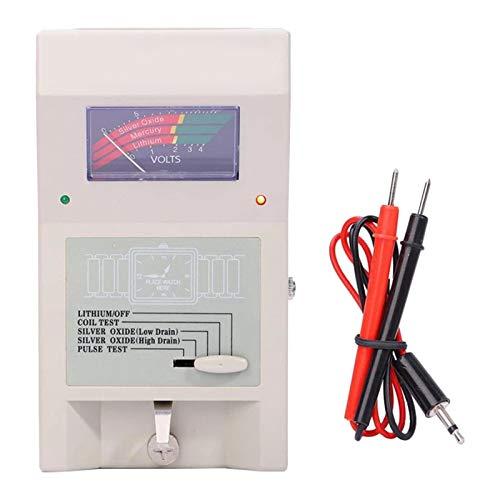 F Fityle Quarzuhr Batterie Tester, Knopfzelle Spule Uhr Puls Tester, analysator Batterie Werkzeuge für Uhrmacher und Uhr Reparatur Arbeiter
