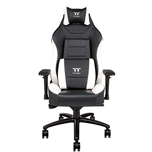 Thermaltake - X-Comfort XC500 Gaming Chair - Schwarz/Weiß