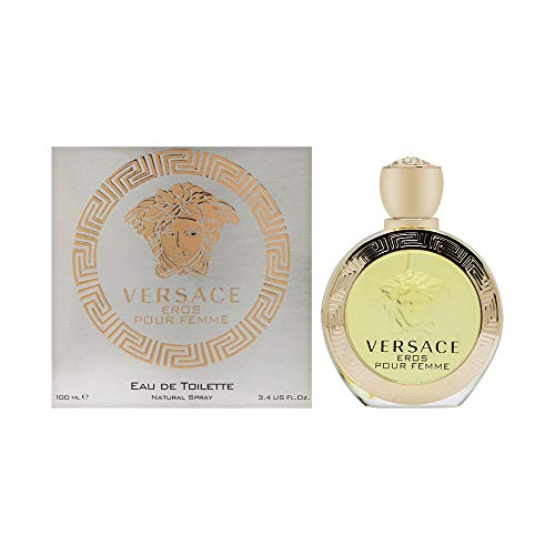 VERSACE Eros Spray for Women, 3.4 Ounce