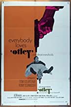 Otley (1968) Original U.S. One-Sheet Movie Poster 27x41 Folded TOM COURTENAY ROMY SCHNEIDER ALAN BADEL Film directed by DICK CLEMENT