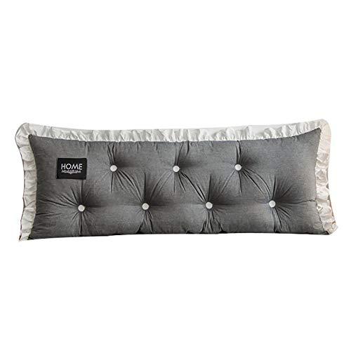 Cojín para mesilla de noche, algodón, lavable, se puede utilizar para sofá de noche, ventana, tatami, coche, oficina, 3,200 x 55 x 15 cm