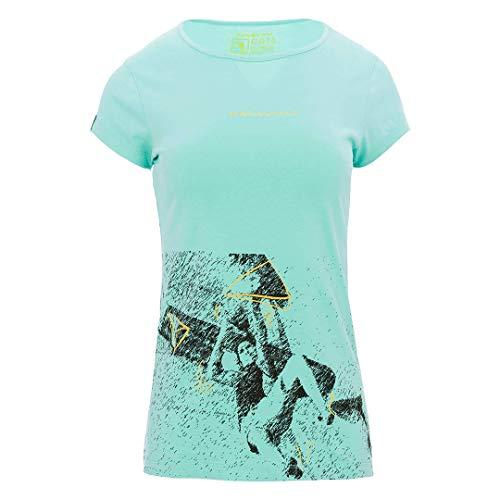 Trangoworld Stasa T-Shirt Femme, Vert Turquoise, M