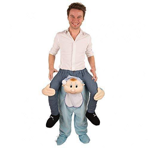 Lively Moments Reitkostüm / Aufsitzkostüm mit Einem Baby / Hose / Huckepack Kostüm Kleinkind / Reiterkostüm / Babykostüm