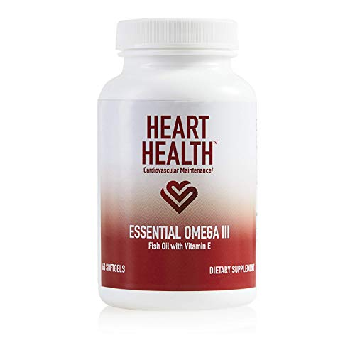 Heart Health Essential Omega III Fish Oil with...