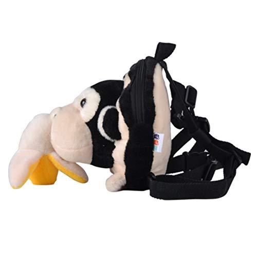ChengBeautiful Cuerda Anti-perdida para Niños Viajar Seguridad Anti-Perdida de Seguridad muñeca Banda Mochila Niño con Las riendas (Color : Multi-Colored, Size : 114cm)