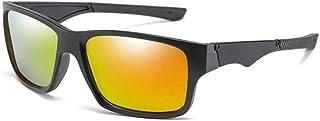 GODYS - Visión nocturna hombres gafas de sol hombres polarizados uv400 hombres moda gafas cuadradas uv400