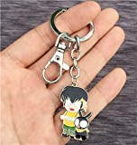DEOLBA Game Ranma 1/2 Necklace Keychain pandent Cosplay Collection Gift