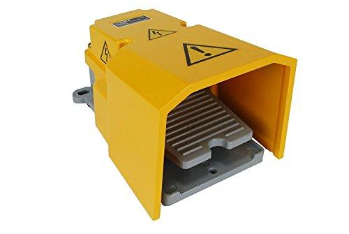 Pedal resistente del interruptor de pie con el protector 15A SPDT momentáneo eléctrico antideslizante