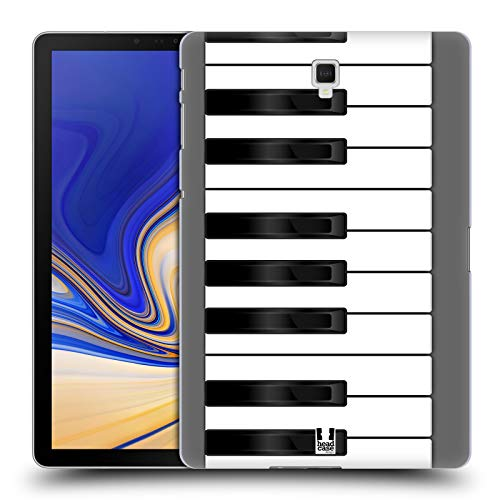 Head Case Designs Piano Keys Hard Back Case Compatible for Galaxy Tab S4 10.5 (2018)