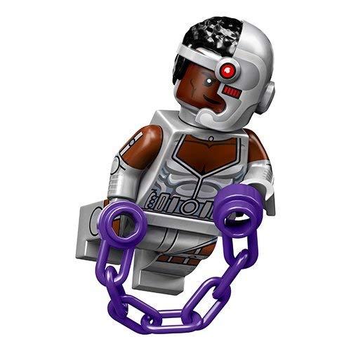 Unbekannt Lego® 71026 Minifigures Minifiguren DC Super Heroes Figur Cyborg + Sticker-und-co-de Bonbon