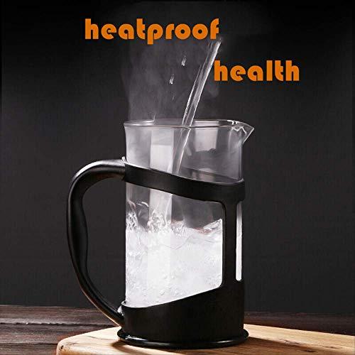 600ml Koffie Pot Handmatige Franse Persen Pot Koffiemachine Hittebestendige Percolator Tool voor Thee Koffie Melk Frothing