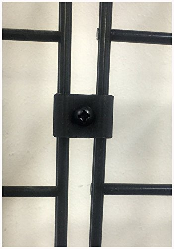 Gridwall Joining Clips Black for Joining Grid Panels Lot of 12 Pieces