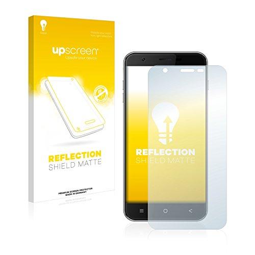 upscreen Entspiegelungs-Schutzfolie kompatibel mit Oukitel U7 Pro – Anti-Reflex Bildschirmschutz-Folie Matt