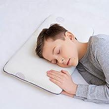 Salud Niños Almohada para Dormir Dormir Dormir Hipoalergénica Memory Espuma Almohada para niños (3-8 años)