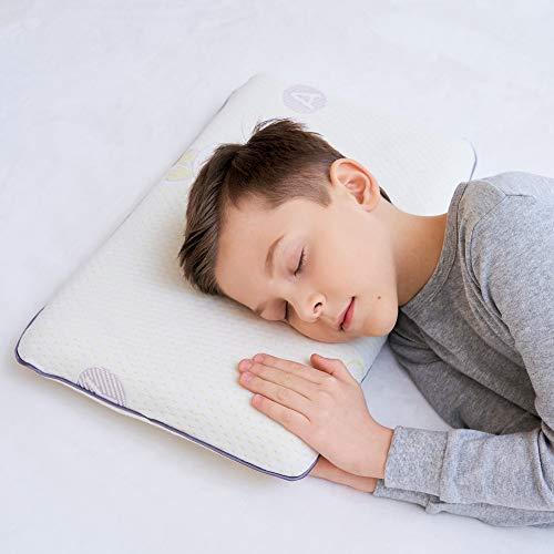 Gesundheit Kinder Kissen für Bett Schlafen Hypoallergenic Memory Schaum kinderkissen kopfkissen für Kinder (4-12 Jahre)